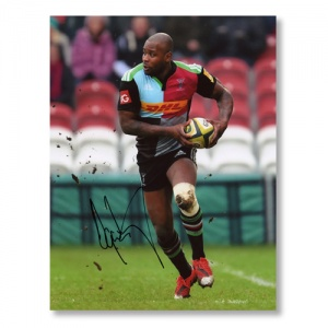Ugo Monye Signed Photograph