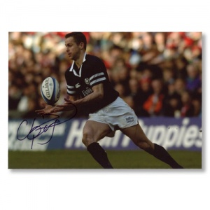 Chris Patterson Scotland Signed Photograph