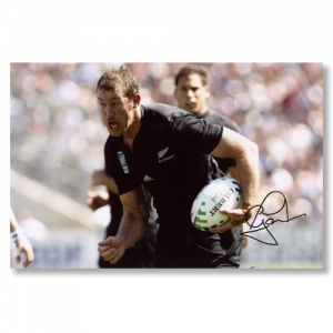 Chris Jack Signed Photograph