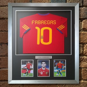 Cesc Fàbregas Signed Replica Shirt