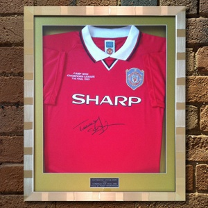 Teddy Sheringham Replica Man United Shirt