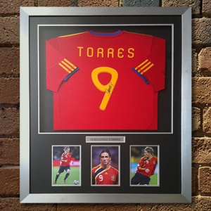 Fernando Torres Signed Replica Shirt