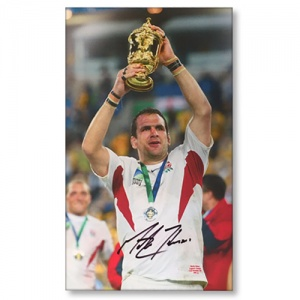 Martin Johnson RWC 2003 Signed Canvas