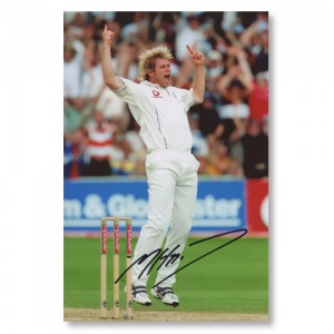 Matthew Hoggard Signed Photograph
