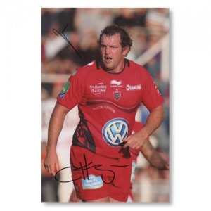 Carl Hayman Toulon Signed Photograph