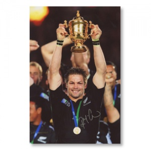 Richie McCaw All Blacks Signed Photograph