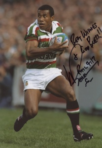 Waisale Serevi Signed Photograph