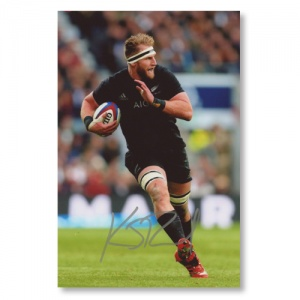Kieran Read All Blacks Signed Photograph