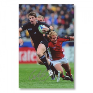 Colin Slade All Blacks Signed Photograph