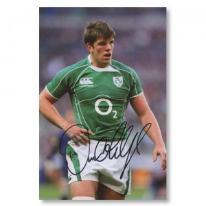 Donncha O'Callaghan Signed Photograph