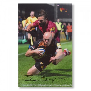 Joe Simpson Signed Photograph