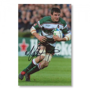 Martin Corry Signed Photograph
