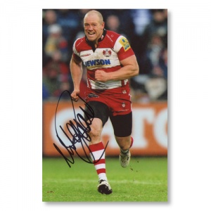 Mike Tindall Signed Photograph