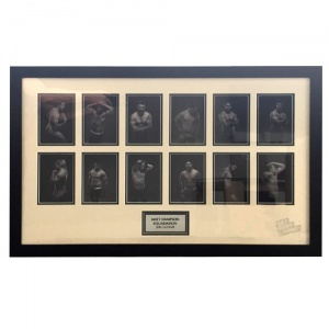 Signed Calendar Montage Framed Prints