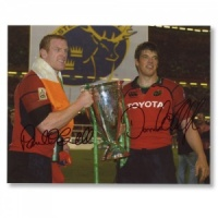 Paul O'connell and O'Callaghan Signed Photograph