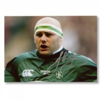 John Hayes Ireland Anthem Signed Photograph