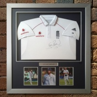 Stuart Broad Signed England Shirt