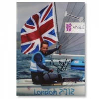 Signed Sir Ben Ainslie Photograph
