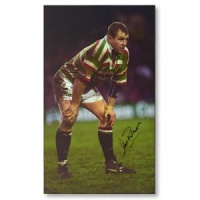 Dean Richards Signed Canvas