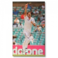 Signed James Anderson Canvas