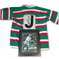 Les Cusworth Signed Shirt and Photograph