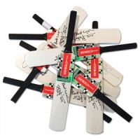 Signed Mini Cricket Bats - Various Autographs