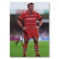 Signed and framed Tom Youngs