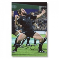 Carl Hayman New Zealand Signed Photograph
