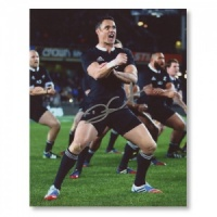 Dan Carter Signed Photograph