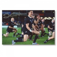 Dan Carter All Blacks Signed Photograph
