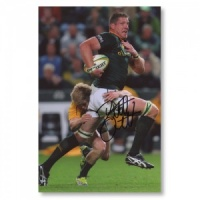 Bakkies Botha South Africa Signed Photograph