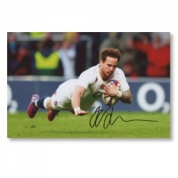 Danny Cipriani Signed Photograph