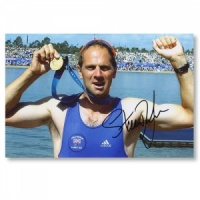 Signed Sir Steve Redgrave Photograph