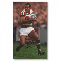 Waisale Serevi Signed Canvas