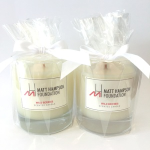 Matt Hampson Foundation Scented Candle